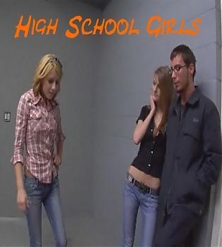 Школьницы трахают парня / High school girls fucking the dude (2008) CamRip