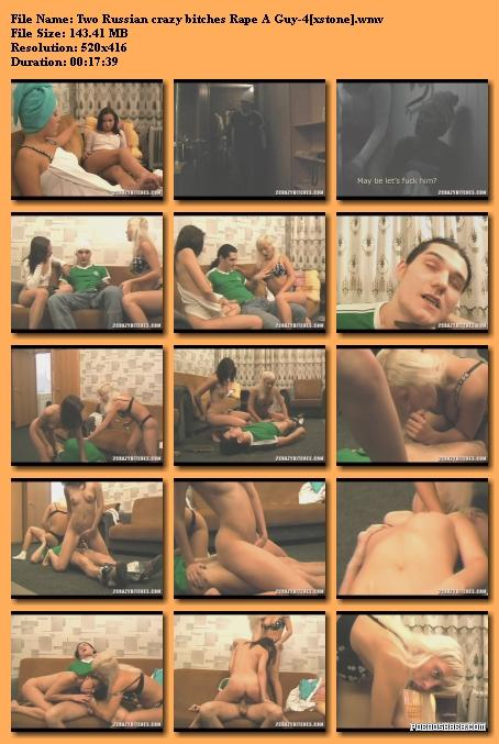Two Russian crazy bitches Rape A Guy-4 (2009) SATRip