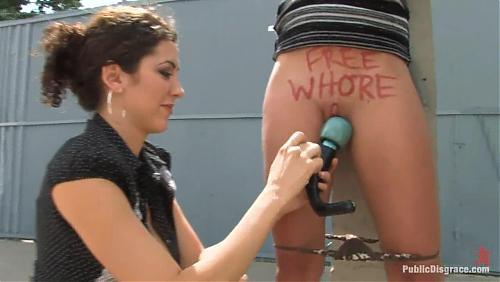 Бесплатная шлюха | FREE WHORE! с publicdisgrace.com. Опасная тема (2008) HDTV