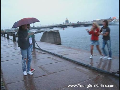 Питерский дождь. (2009) DVDRip