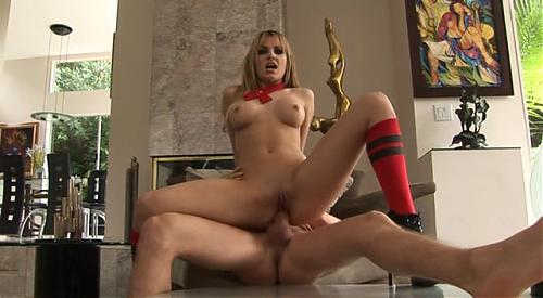 Красивый юз нимфетки 12(Hanna Hilton - Anal Driller) (2009) DVDRip