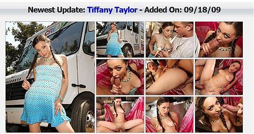 18ти летняя звезда порно Tiffany Taylor-самый свежый ролик в интернете. (2009) SATRip