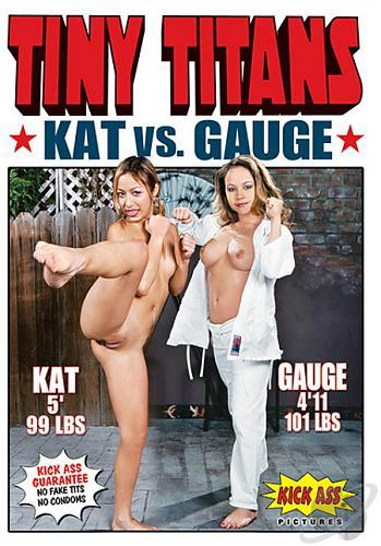 Tiny Titans Kat vs Gauge / Маленькие Титаны : Kat VS Gauge (2010) DVDRip