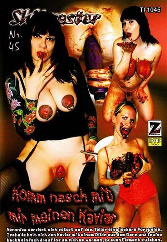 Shitmaster #45 - Komm nasch mit mir meinen kaviar / Мастера-Говноедки #45 Scat (2010) DVDRip