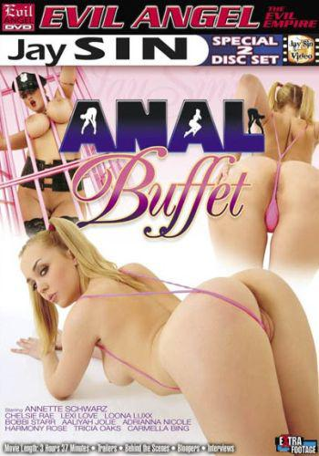 Anal Buffet / Анальный Буфет (Jay Sin / Evil Angel) [2008, Gonzo,Oral,Anal,Big Butts,Big Tits,Facials ,Blowjob, Swallow,Masturbation,Toys,Big Dildo] Bobbi Starr, Loona Luxx,Carmella Bing,Annette Schwarz (2008) DVDRip