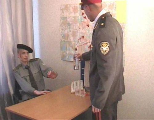 Генерал насилует молоденькую служащую  (2010) CamRip