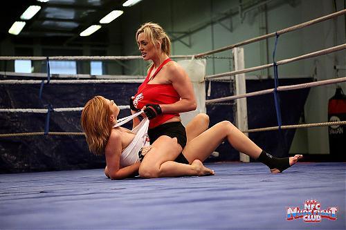 [NudeFightClub.com / 21Sextury.com] Tanya Tate vs Nikita (v49030 / 25.06.10) / Агресивные лесбиянки (2010) SATRip