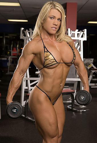 Melissa Dettwiller 4 ролика с я дважды чемпионкой США по бодибилденгу и чемпионкой мира в этом же виде спорта. (2010) SATRip