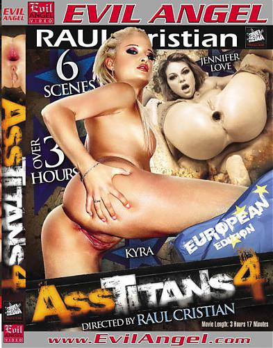 Ass Titans # 4. / Butt Fucks R Us - 4. / Титаны Задниц - 4. (Raul Cristian. / Evil Angel.) (2010) DVDRip