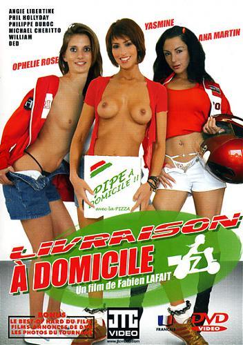 Livraison A Domicile / Доставка пиццы на дом [Feature, All Sex, Anal, Oral, Facial Cumshot] (2006) DVDRip