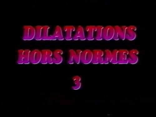 Dilatations Hors Normes #3 / Растяжения сверх нормы #3 (1999) Other
