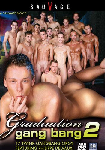 Graduation Gang Bang 2 / Групповуха выпускников 2 (2009) DVDRip