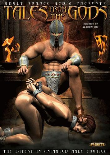 СКАЗКИ БОГОВ- 3D ГЕЙ АНИМАЦИЯ /Tales From The Gods (2010) DVDRip