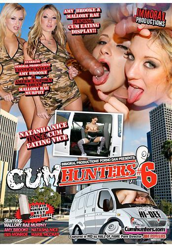 Cum Hunters #6 / Охотницы за Спермой #6 (Immoral Productions) (2010) DVDRip