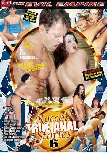 Настоящие анал истории Рокко 6 / Rocco's True Anal Stories 6 (1999) DVDRip