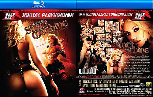 Riley Steele Strict Machine Blu-Ray DVD  Строгая Машина (2010) BDRip