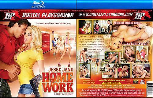 Jesse Jane Homework    Домашняя работа  Джесси Джейн (2010) BDRip