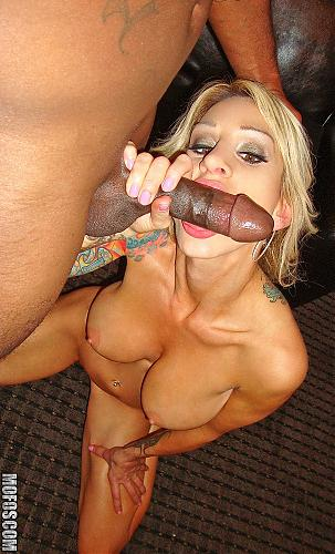 [MilfsLikeItBlack.com / Mofos.com] Sarah J. (Greedy Mother Fucker / 448) [2010г., Big Tits, Black Cock, Blonde, Interracial, Milf, Rough Sex]*Released: June 14, 2010* (2010) SATRip