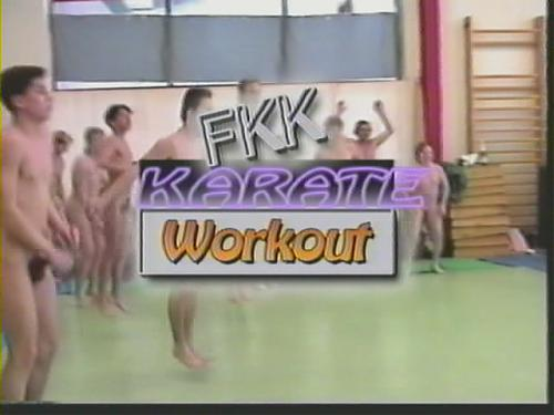 FKK Karate Workout - Нудисты (2006) CamRip