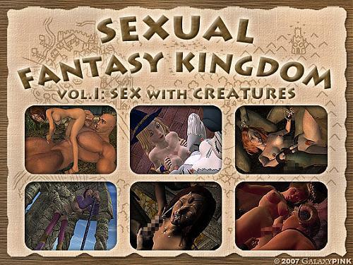 Sex Fantasy Kingdom volumes 1-3 uncensored / Королевство сексуальных фантазий. Интерактивное Аниме (2009) Other