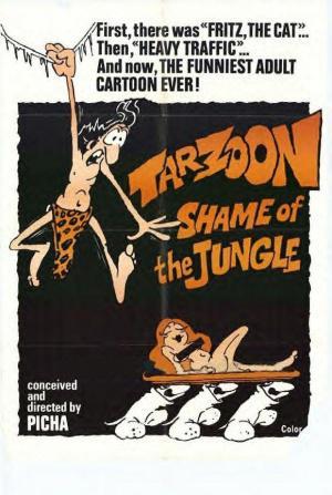 Tarzoon la vergogna della giungla / Тарзан - стыд джунглей / Shame of the Jungle (1975) DVDRip