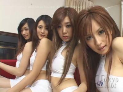 Tokyo Hot Japanese Orgy - Megumi Ishikawa and girlfriends (2010) DVDRip