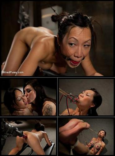 [WiredPussy.com / Kink.com] Jun 3, 2010 - Princess Donna Dolore and Tia Ling (Mind Fuck / 9155) [2010 г., BDSM, Bondage, Lesbians, Spanking, Torture, Anal, Fuck Machine, Domination, Dildo, Toys, Hardcore, 720p]*Released: June 3, 2010* (2010) HDTVrip