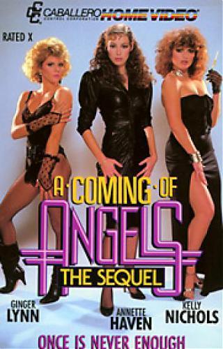 Coming of Angels: The Sequel / Прибытие ангелов: Продолжение (Jack Williams, Caballero Home Video) [1985 г., Classic, Feature, Straight, All Sex, Gang Bang, Blowjob, Cream Pie, Deep Throat, Facial Cumshot, Hairy][Split Scenes] (2007) DVDRip