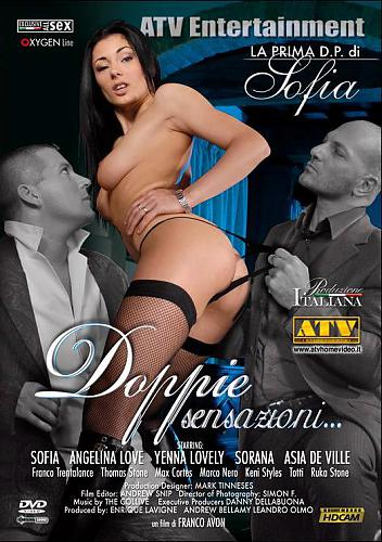 Doppie Sensazioni... / Двойные сенсации... (Franco Avon / ATV Entertainment (ATV)) [2008 г., All Sex, Vignettes, Anal, Oral, DP, DVDRip] (2008) DVDRip