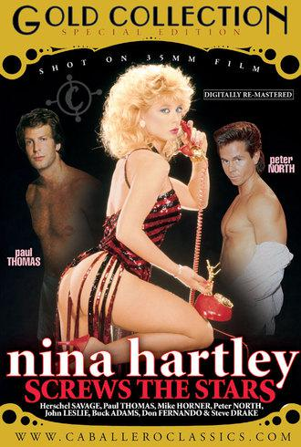 Nina Hartley Screws The Stars / Нина Хартли - звездный секс (Unknown, Caballero Home Video) [1990 г., Classic, Compilation, Straight, All Sex, Milf, Blowjob, Threesome, Hairy, Masturbation, Outdoor, Shaved, DVDRip][Split Scenes] (2008) DVDRip