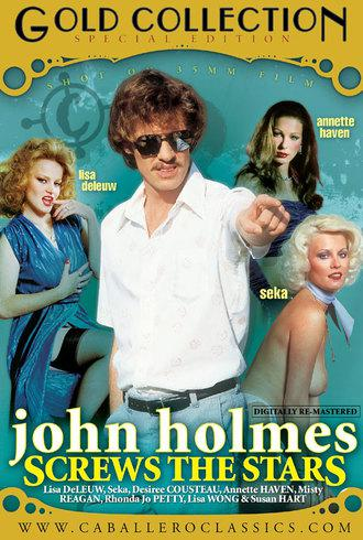 John Holmes Screws The Stars / Джон Холмс - звездный секс (Unknown, Caballero Home Video) [1990 г., Classic, Compilation, Straight, All Sex, Gang Bang, Blowjob, Threesome, Facial Cumshot, Hairy, DVDRip][Split Scenes] (2008) DVDRip