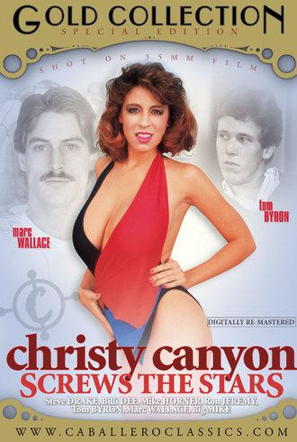 Christy Canyon Screws The Stars / Кристи Каньон - звездный секс (Unknown, Caballero Home Video) [2008 г., Classic, Compilation, Straight, All Sex, Gang Bang, Blowjob, Threesome, Facial Cumshot, Hairy][Split Scenes] (2008) DVDRip