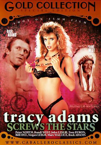 Tracy Adams Screws The Stars / Трейси Адамс - звездный секс (Unknown, Caballero Home Video) [2008 г., Classic, Compilation, Straight, All Sex, Blowjob, Threesome, Facial Cumshot, Fetish, Hairy, DVDRip][Split Scenes] (2008) DVDRip