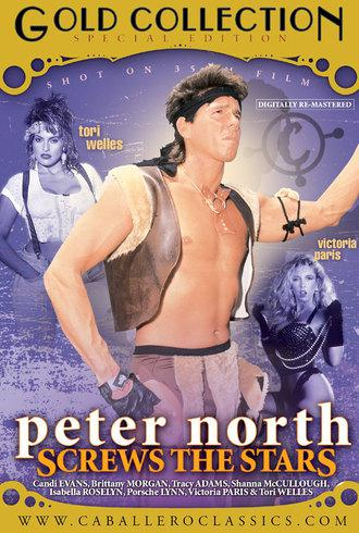 Peter North Screws The Stars / Питер Норт - звездный секс (Unknown, Caballero Home Video) [1993 г., Classic, Compilation, All Sex, Blowjob, Threesome, Facial Cumshot, Group Sex, Hairy, Masturbation, Shaved, Toys][Split Scenes] (2008) DVDRip