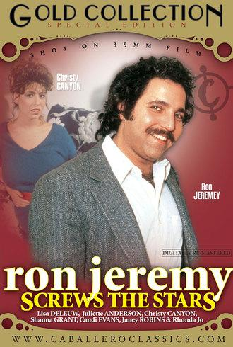 Ron Jeremy Screws The Stars / Рон Джереми - звездный секс (Unknown, Caballero Home Video) [2007 г., Classic, Compilation, Straight, All Sex, Gang Bang, Blowjob, Threesome, Facial Cumshot, Hairy, DVDRip][Split Scenes] (2008) DVDRip