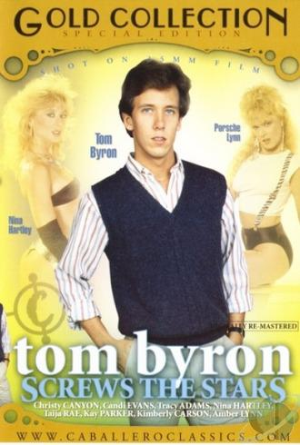 Tom Byron Screws The Stars / Том Байрон - звездный секс (Unknown, Caballero Home Video) [2008 г., Classic, Compilation, Straight, All Sex, Blowjob, Threesome, Facial Cumshot, Hairy, DVDRip][Split Scenes] (2008) DVDRip