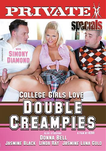Private Specials 30: College Girls Love Double Cream Pies / Студентки Любят, чтобы в них Кончили Дважды (DVD5) (2010) DVD