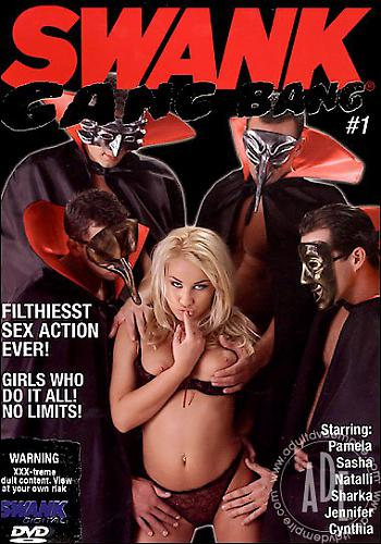 Swank Gang Bang 1 / Групповуха Сванк 1 (2010) DVDRip
