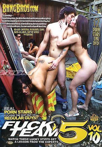 Fuck Team Five # 10. / Команда Пяти Трахальщиц - 10 (2010) DVDRip