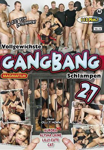 Vollgewichste Gangbang Schlampen #27 / Обконченные в групповухе шлюхи #27 (2010) DVDRip