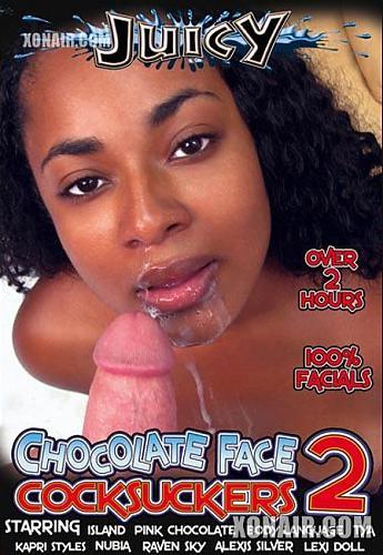 Chocolate Face Cock Suckers 2 / Шоколадные личики сосущие члены 2 (2010) DVDRip
