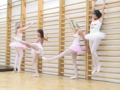 Тренировка балерин(4_Ballerinas...)   (2009) DVDRip