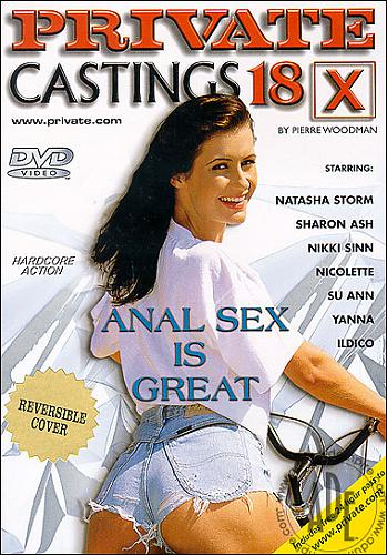 Private Castings X 18 - Anal Sex is Great / Кастинг Пьера Вудмана 18 (2003) DVDRip