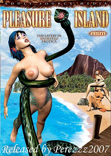 Pleasure Island / Остров удовольствий (Adult Source Media) (ep. 1 - 2 of 2) [uncen] [2008 г., 3D, All Sex, Fantastical, Tentacles, DVDRip] [eng] (2008) DVDRip