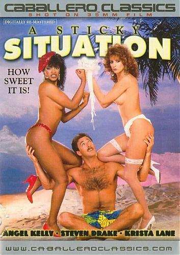 A Sticky Situation / Тяжёлое положение (Steve Michaels, Caballero Home Video) [1987 г., Feature, Straight, Classic, DVDRip] Angel Kelly, Bunny Bleu, Jessica Wylde, Krista Lane etc (2007) DVDRip