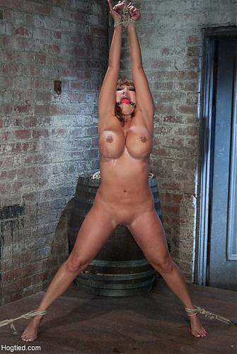 [Hogtied.com / Kink.com] Ava Devine (BIG TITTED MILF Tip toes and made to cum! / 9518) [2010 г., BDSM, 720p]*Released: Jun 8, 2010* (2010) HDTVrip