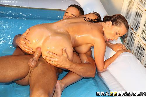 [BabyGotBoobs.com / Brazzers.com] Cindy Dollar (Euro Pool Party) (2010) SATRip