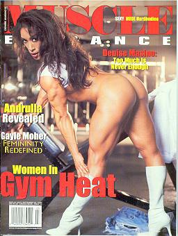 Muscle Elegance Magazine.July 2000 - Table of Contents