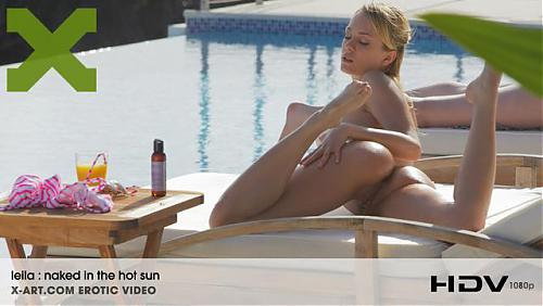Naked in Hot Sun