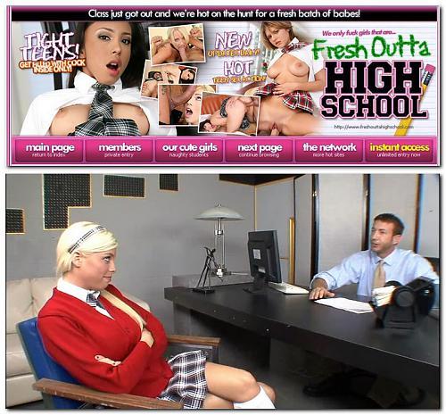 FreshOuttaHighSchool - Britney Amber